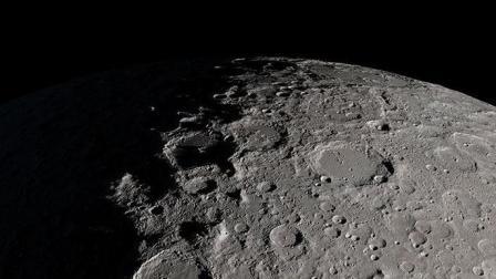 NASA公布4K月球高清视频: 连阿波罗登月遗迹都能看到