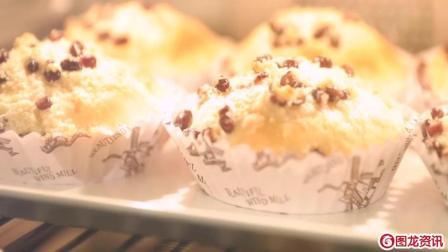 美食达人教你做奶浆椰香面包, 舌尖上的极品美味!