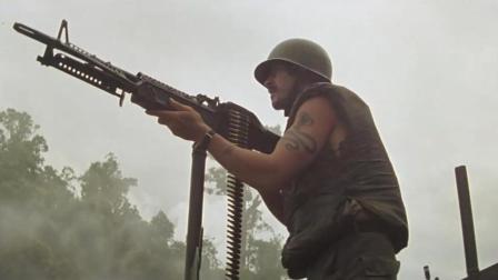 迄今为止一部难越的美国越战大片 场面足够猛烈劲爆