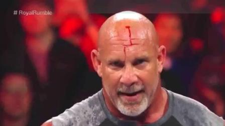 WWE战神高柏疯狂挑衅, 终于把这个人招来了
