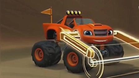旋风战车队: 车子还可以成为压路机, 这操作厉害!