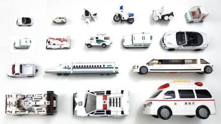 展示摩托车公交车轮船等工具车