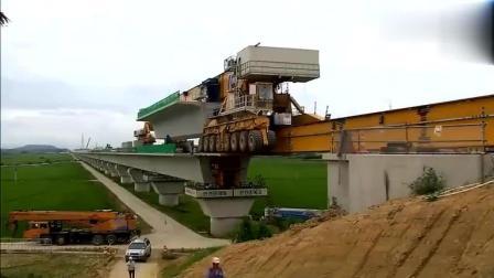 连连点赞, 中国的架桥技术韩国人也会了, 用这机械建设桥梁果然很快
