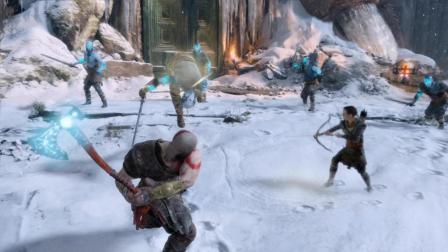 纯黑《战神4》最高难度无伤攻略解说 第一期