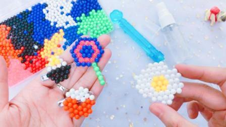 花甜手作DIY精美的手工品, 这么漂亮的美食装饰物, 只需1种材料