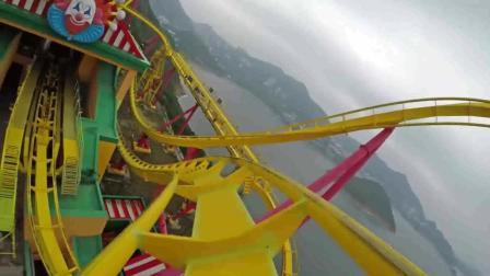 香港海洋公园过山车第一视角