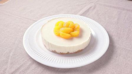 桔子口味的饼干蛋糕这样做, 美味简单
