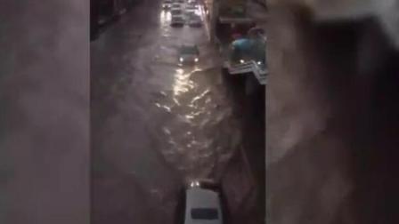 """兰州近年最大暴雨这些人""""傻""""到不知躲避"""