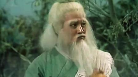 梁子翁看到吃鸡老头便打, 谁知对方使出降龙十八掌, 原来是洪七公