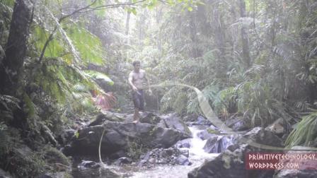 【澳洲小哥全集】(更新至36集)原始技术荒野求生之徒手建造
