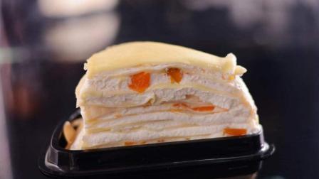 芒果千层蛋糕, 平底锅就能轻松做
