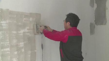 农民工自制一体铲墙机, 能30把刀同时铲墙, 装修老板都佩服