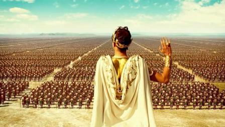 凯撒大帝这阅兵式简直爆表了, 一部投入巨大的史诗级古装大片