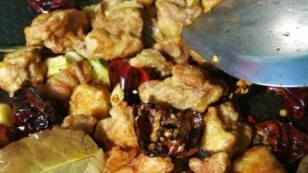 大厨教你香辣鸡块的家常做法, 和大米饭一起吃更美味