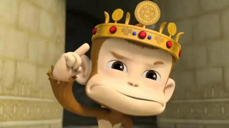 《汪汪队立大功》甜甜和猴子争当女王, 真可爱呀