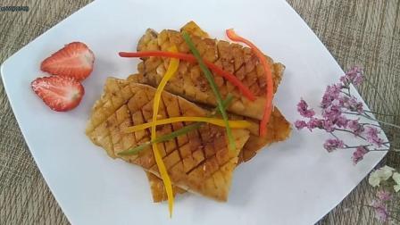 香煎牛排杏鲍菇比肉还好吃, 鲜香味美, 一盘不够吃!