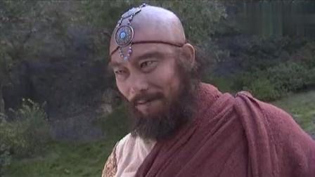 虚竹在少林扮猪吃老虎, 代替师叔祖和鸠摩智比武, 把方丈吓一跳
