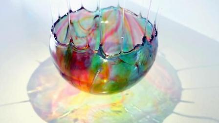 牛人用气球做了一个碗, 不止五彩缤纷, 还很好吃!