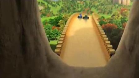 超级飞侠4: 卡丁车比赛乐迪和朋友加入绿箭队