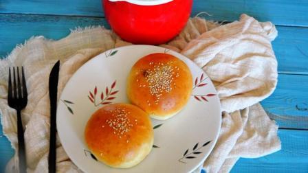 我的日常料理 第一季 超详细步骤教你制作日本知名面包 蜜豆白芝麻餐包