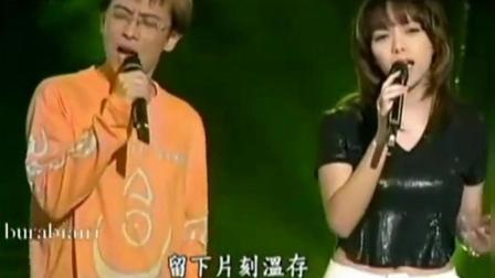 张惠妹张雨生同台献唱《最爱的人伤我最深》, 早期的阿妹好瘦!