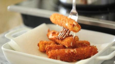 大厨手工制作的油炸美食, 咬一口满嘴都是奶油, 爱吃甜品的有福了