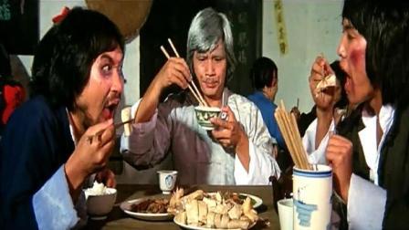 这是多少天没吃饭了? 一份白切鸡, 两个炒菜, 连吃十几碗米饭!