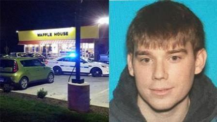 美国发生枪击案致3死4伤 枪手裸体逃跑