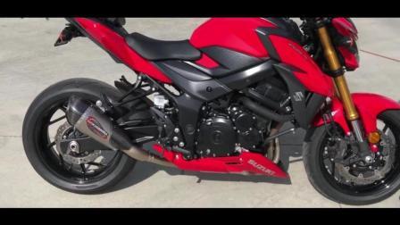 即将国产的四缸大排量摩托车! 2018款铃木GSX-S750, 声音太好听