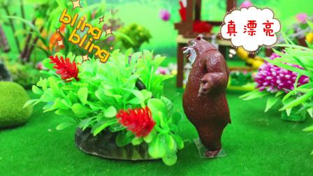 【观察小动物 上】熊出没狗狗巡逻队小猪佩奇粉红猪小妹托马斯小火车亲子故事