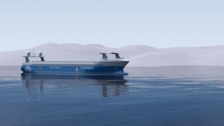 无人货船今年就下水! 不用船员的电力船, 下水敢跑吗?