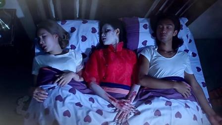 3分钟看完恐怖电影《红衣诡村之幻谜》, 女鬼上身究竟有多恐怖!