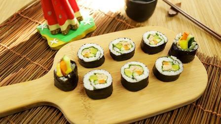紫菜卷饭中的经典, 金枪鱼紫菜卷饭来了! 想象不到的美味!