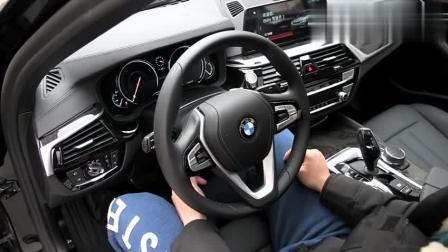 宝马5系 2018款 525Li M运动套装 实拍_视频