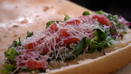 意大利夹菜面包 - 意大利西西里岛