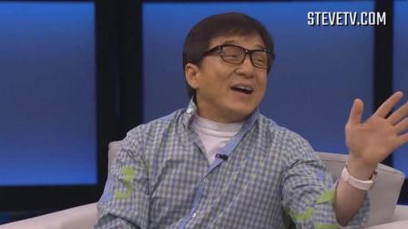 成龙在美国脱口秀节目上惹得主持笑