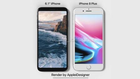 颜值瞬秒iPhone X! iPhone 9真机渲染图来袭: 6.1英寸非刘海屏!