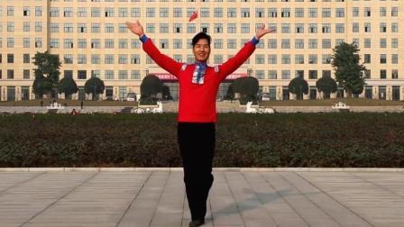 广场舞《欢乐的海洋》原创附教学 一曲欢快又温馨的乐曲, 给大家呈现特色的藏族舞蹈~