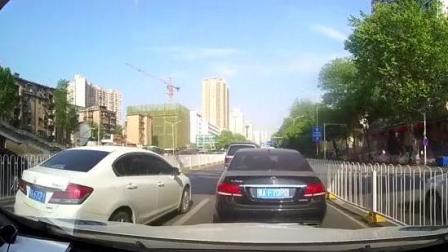 本田汽车虎视眈眈, 强行加塞, 下一秒悲剧了!