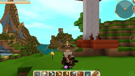 迷你世界高级冒险 想一次打两个龙 小麦田是必须的