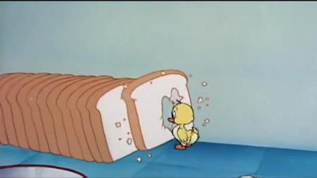 猫和老鼠: 看到小鸭子就想到了烤鸭, 汤姆真是个吃货!