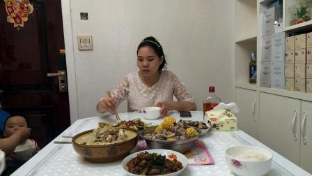 5个月孕妇吃播家常菜