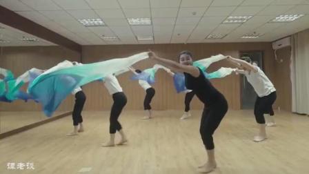 古典舞《昨夜小楼又东风》, 舞蹈身韵还可以, 扇子特别美!