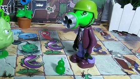 植物大战僵尸  僵尸捡了个宝葫芦不料葫芦变成葫芦娃了, 这回可惨了