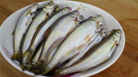 这样子的鱼你吃过吗? 葱烧小河鱼, 一次能吃10多条, 下饭好菜