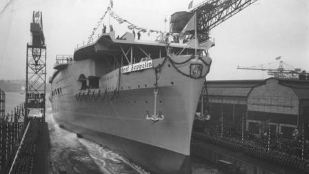 二战德国的唯一一艘航母, 沉入海底之后, 苏联又捞上来击沉第二次