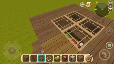 迷你世界教你做最新简易生存小屋, 很快就能建好!