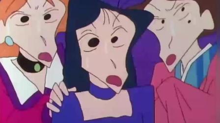 蜡笔小新: 小新一家变成吸血鬼猎人, 要猎杀松阪老师的男朋友!
