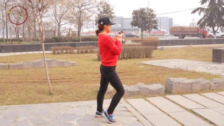 每天坚持原地竞走, 左右扭胯, 15天暴瘦全身, 比节食减肥快3倍