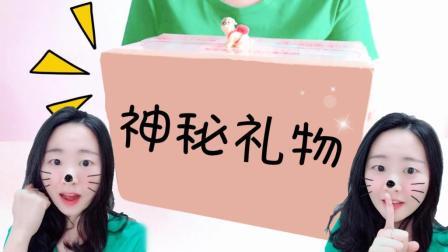 """花甜手作DIY定格动画, 神秘快递礼物, 拆开原来是""""守护者天使"""""""